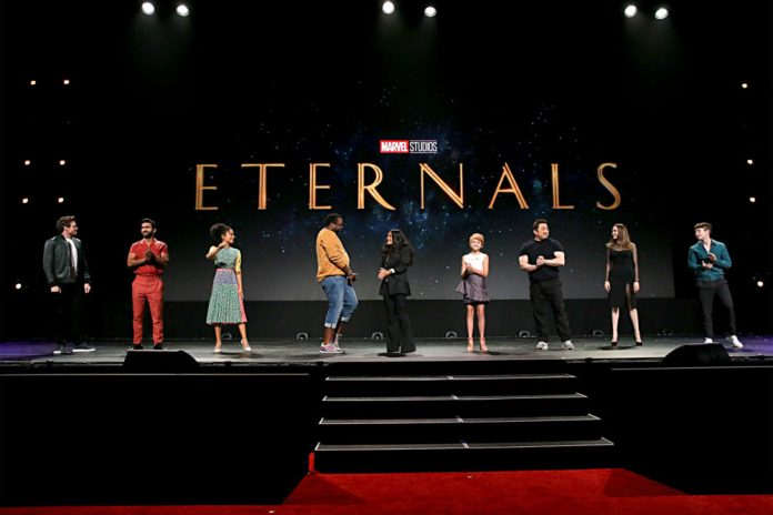 eternals marvel studios announcement