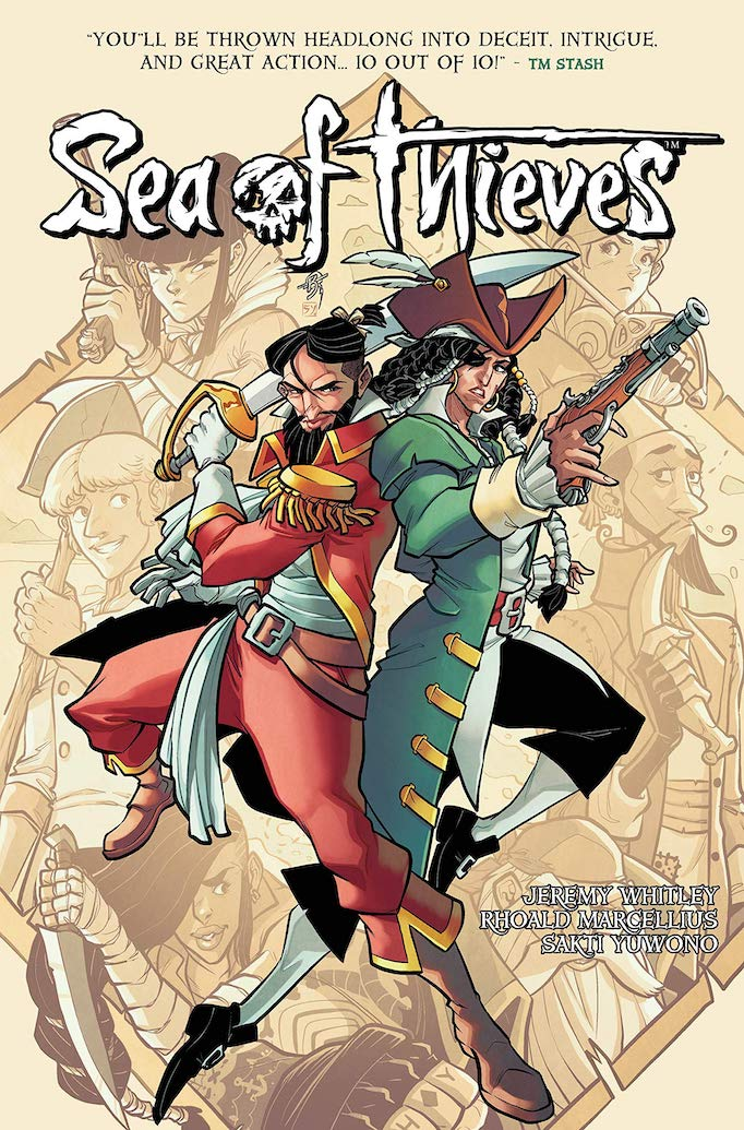 nycc sea of thieves comic