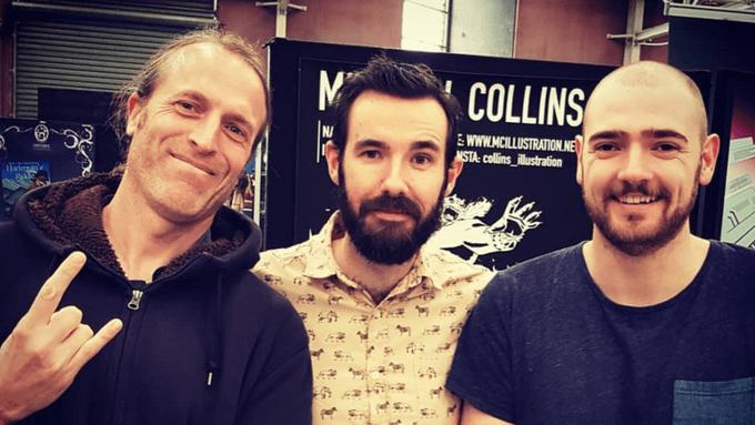 Simon Robins, Ryan K. Lindsay, and Mitchell Collins