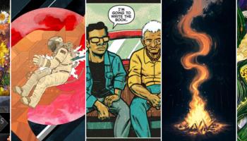 Crowdfunding Comics 10/11 - First Offerings - Neverender - La Voz de M.A.Y.O. #3 - Campfire Stories - Strange Waters