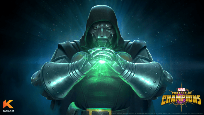 Doctor Doom Enters Marvel Contest of Champions