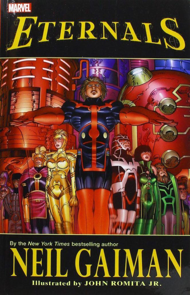 eternals storylines Gaiman
