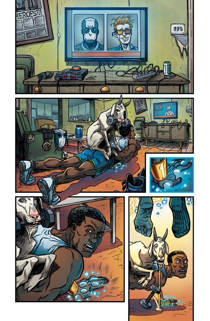 Quantum & Woody preview pages