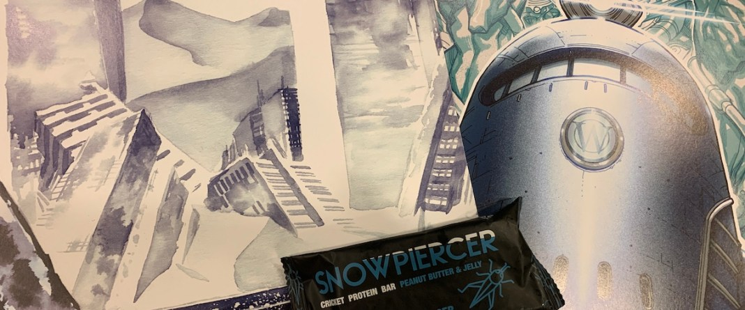 Snowpiercer pop-up
