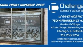 challengers comics store
