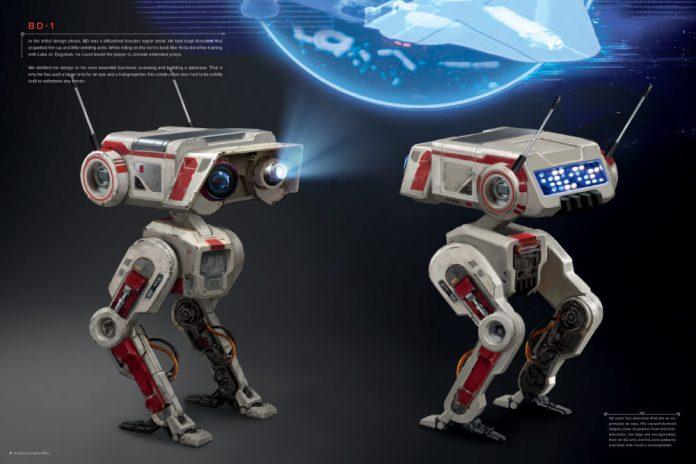 art book star wars jedi droid
