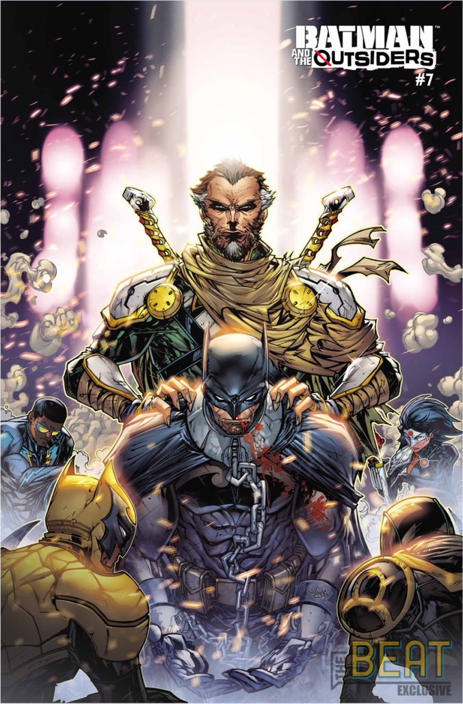 Batman and the Outsiders #7 Cover B