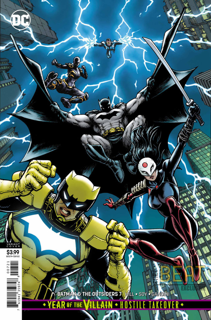 Batman and the Outsiders #7 Cover