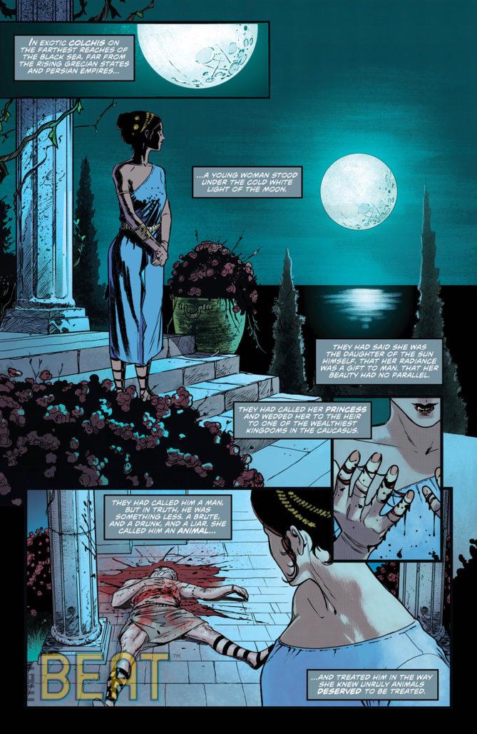 Justice League Dark #17 Interior