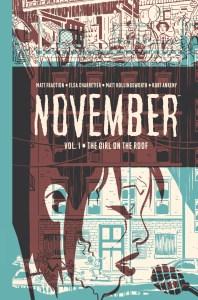 Matt Fraction November cover