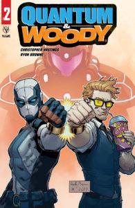 Valiant February 2020 solicits: Quantum & Woody #2