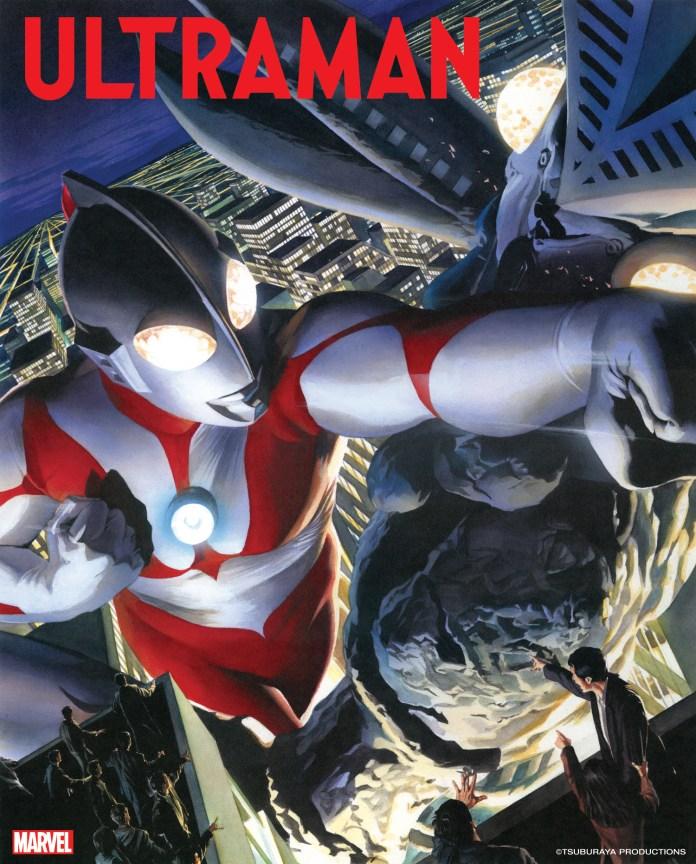 Ultraman art by Alex Ross