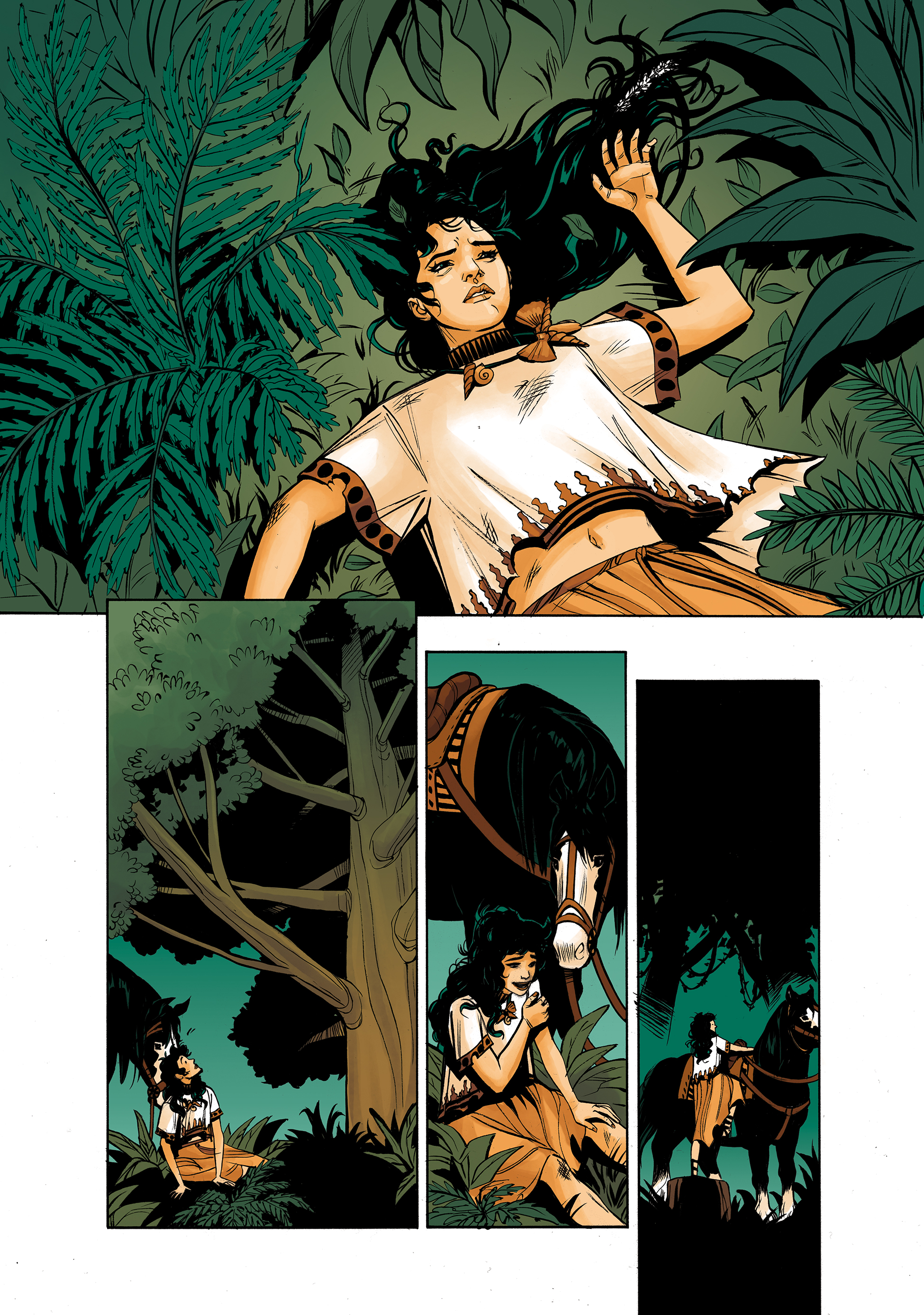 Wonder Woman: Tempest Tossed preview
