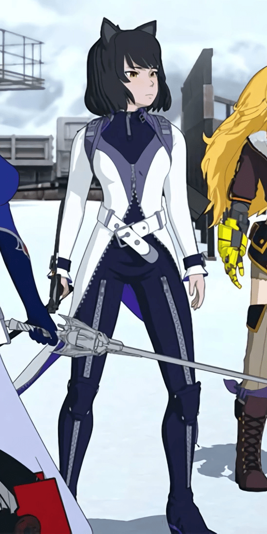 Blake in her new digs for RWBY season 7