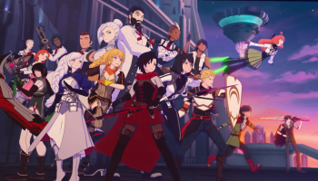 the cast of RWBY in volume 7