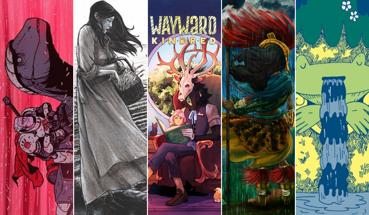 Crowdfunding Comics 11/15 - A King's Vengeance - The Book of Ruth - Wayward Kindred - Quetzalcoatl - Parapond