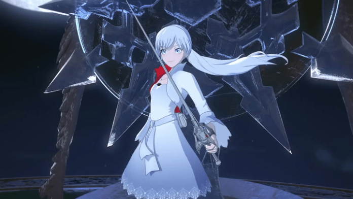 Weiss is powerful alone or a part of a team on RWBY