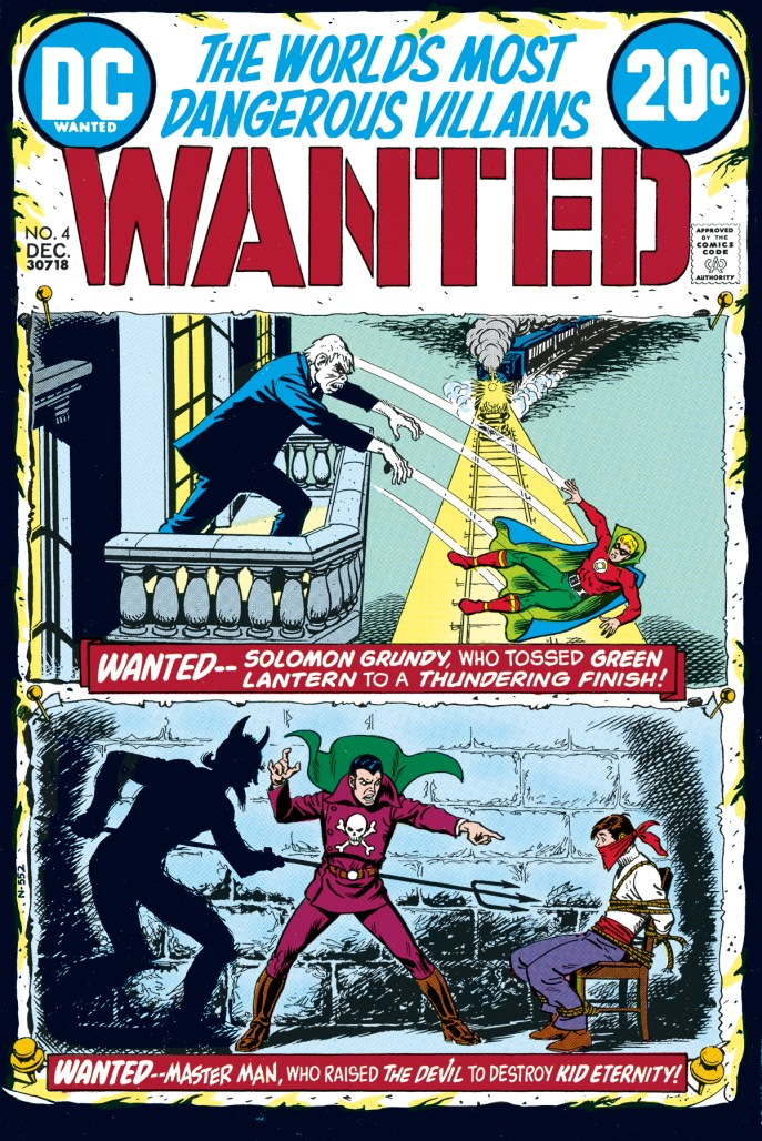 DC's Most Wanted Cover