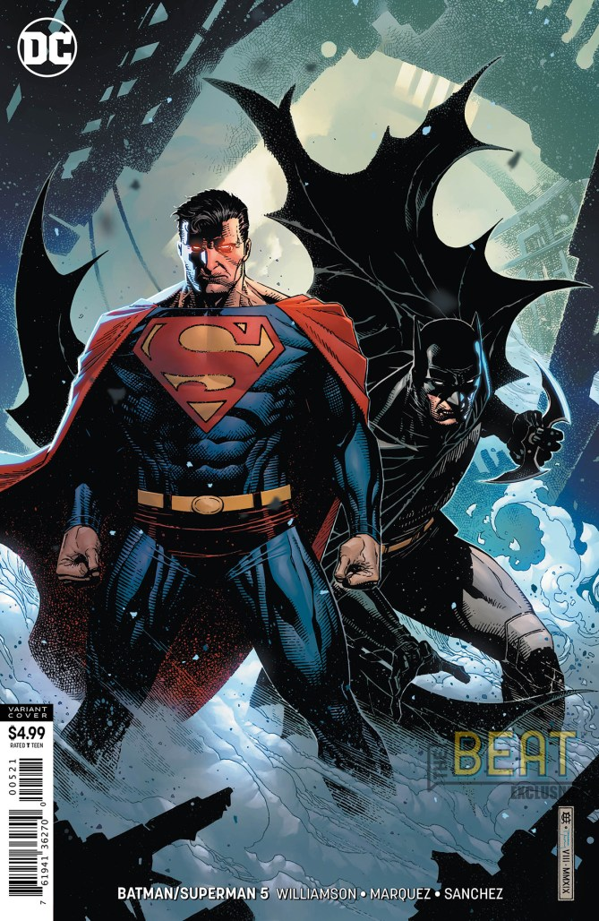Batman/Superman #5 Variant Cover