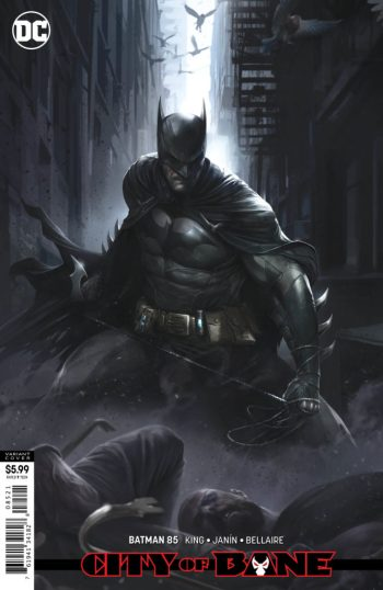 Batman #85 cover