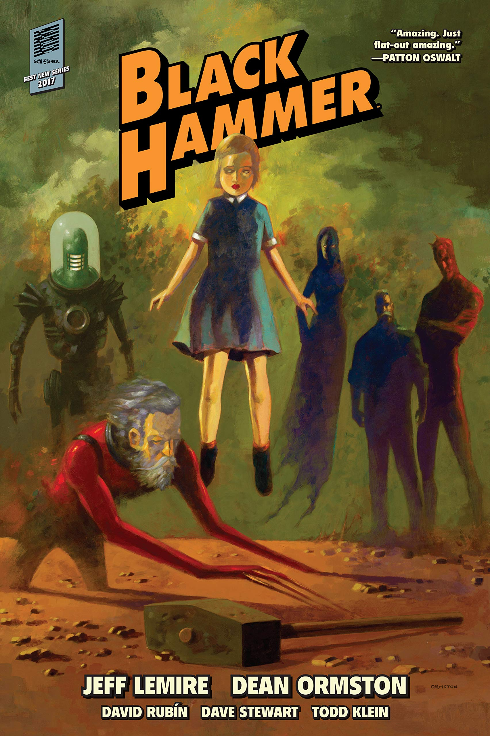 The 100 Best Comics of the Decade: Black Hammer