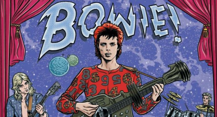 David Bowie Mike Allred