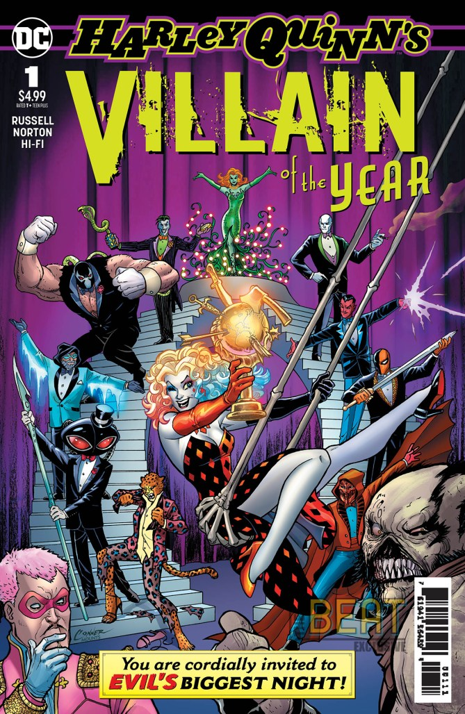 Harley Quinn's Villain of the Year Cover