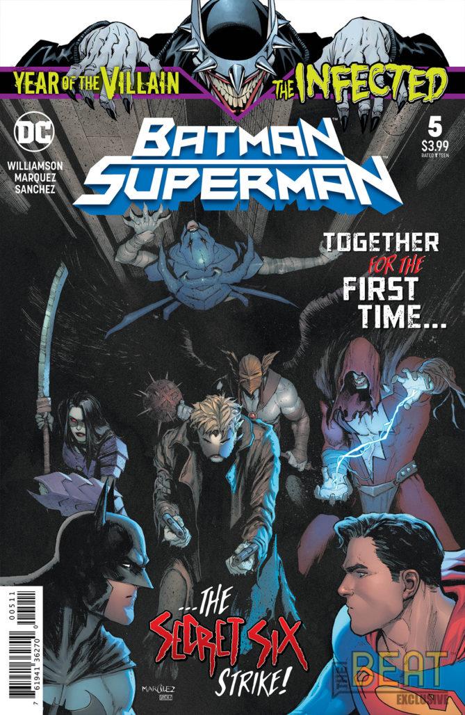 Batman/Superman #5 Cover