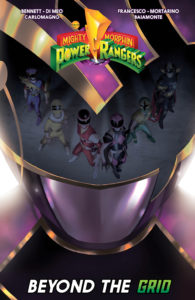 mighty morphin power rangers beyond the grid