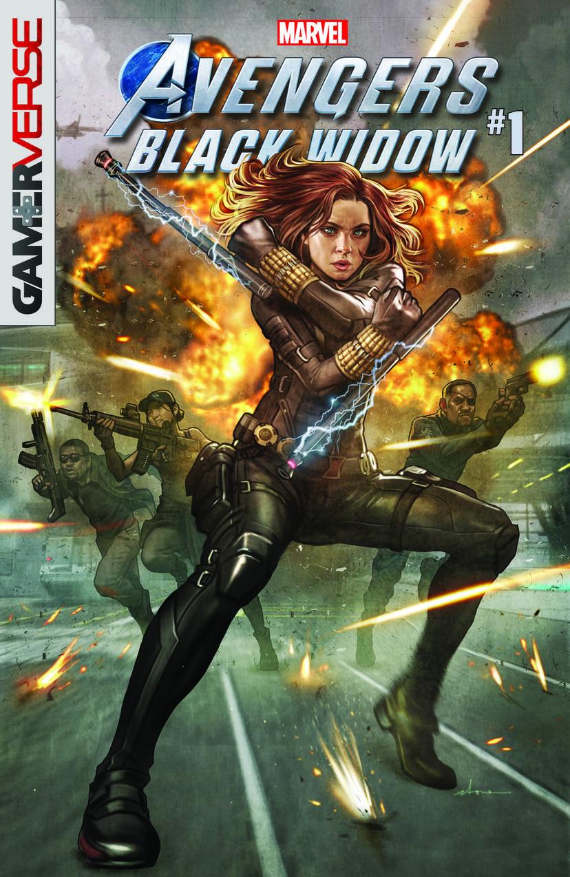 Marvel's Avengers: Black Widow #1 game tie-ins