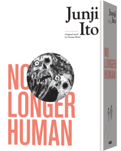 No Longer Human cover art courtesy of Viz Media