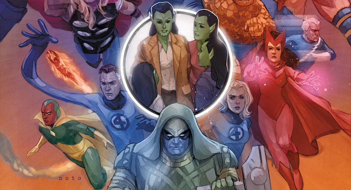 The ROAD TO EMPYRE begins in the Marvel Comics March 2020 Solicitations