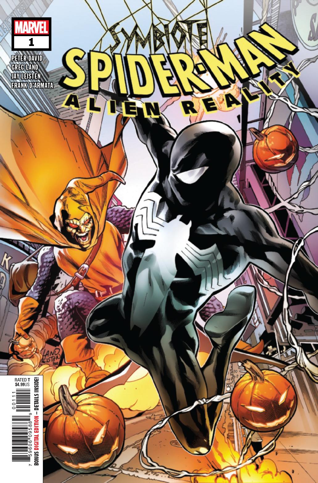 Spider-Man Swing Image All-Over Marvel Comics Mens Zip Up Hoodie Sweatshirt