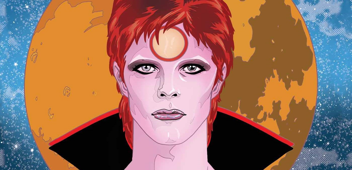 David Bowie Graphic Novel Interview