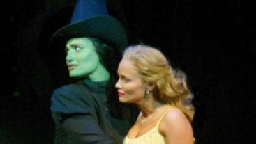 Kristin Chenoweth and Idina Menzel, the original stars of Wicked