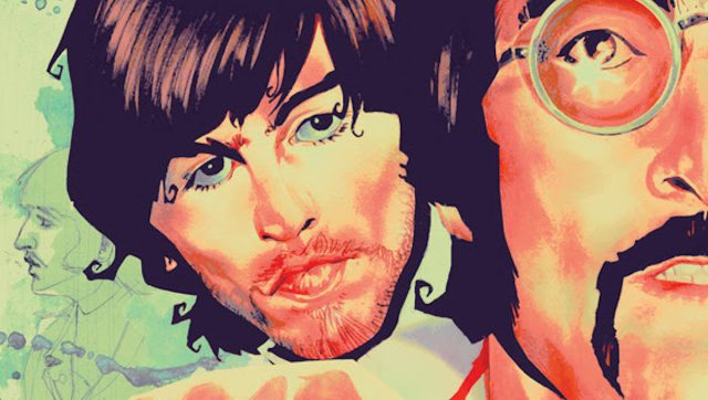 Image reveals cover for PAUL IS DEAD, a speculative history Beatlemania OGN