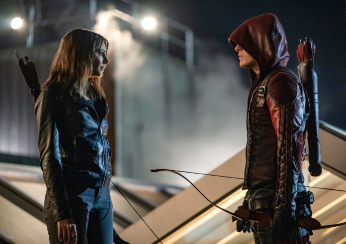 From ARROW S8E10; Photo: The CW.