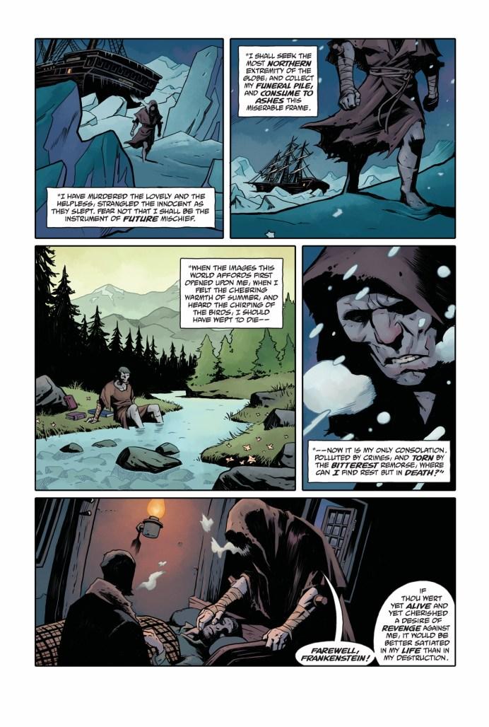 Frankenstein Undone #4
