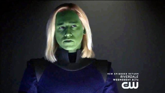 Jesse Rath as Brainiac 5 in Supergirl Season 5