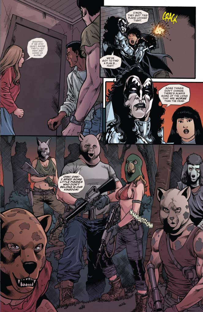 KISS/Zombies #3