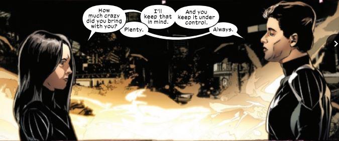 Fallen Angels Wolverine and Psylocke