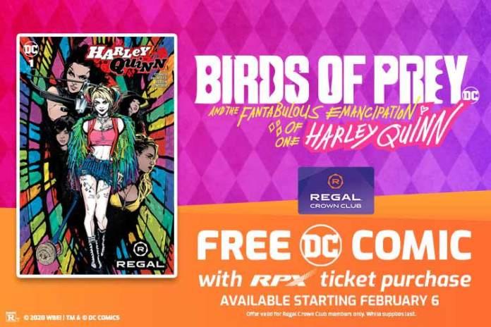 Free Harley Quinn comic
