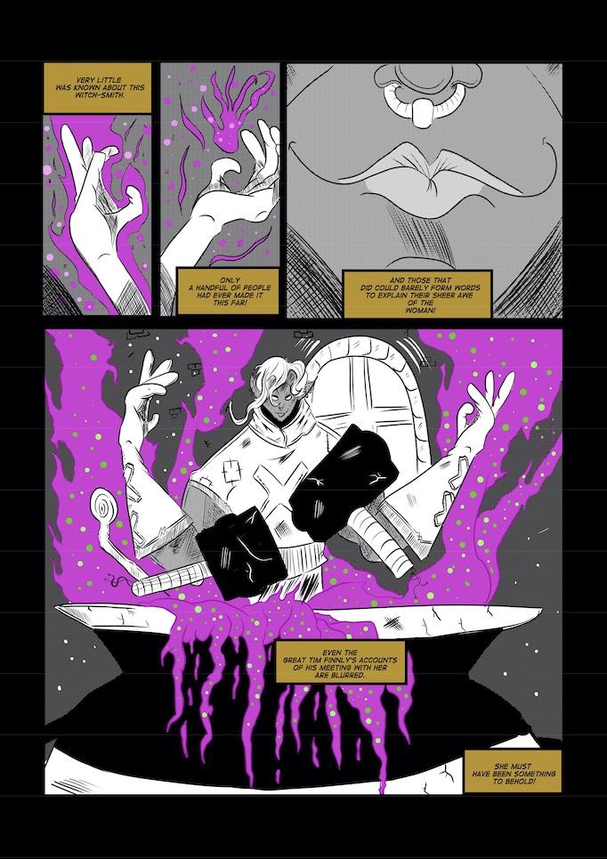 Lane Lloyd comics page