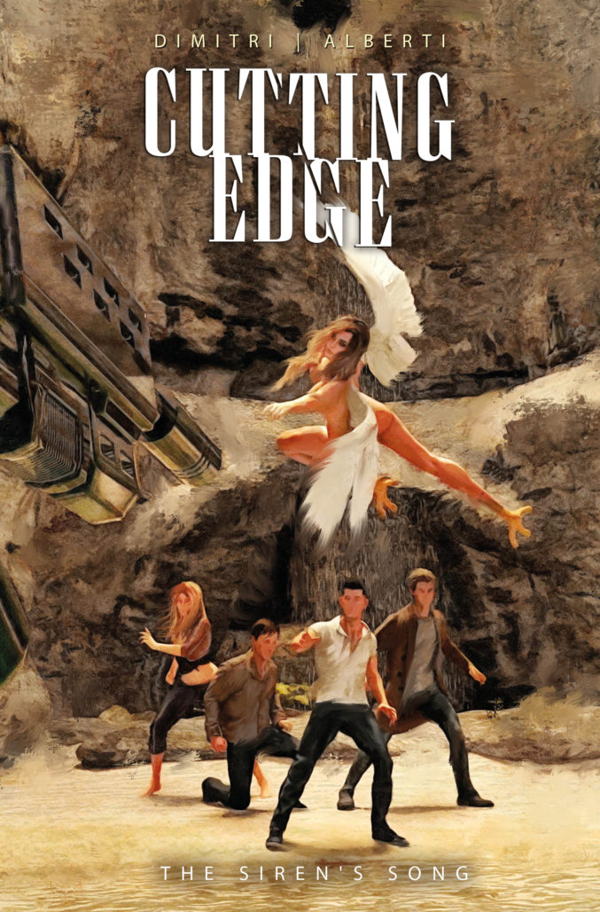 Cutting Edge cover by Marco Tourini.