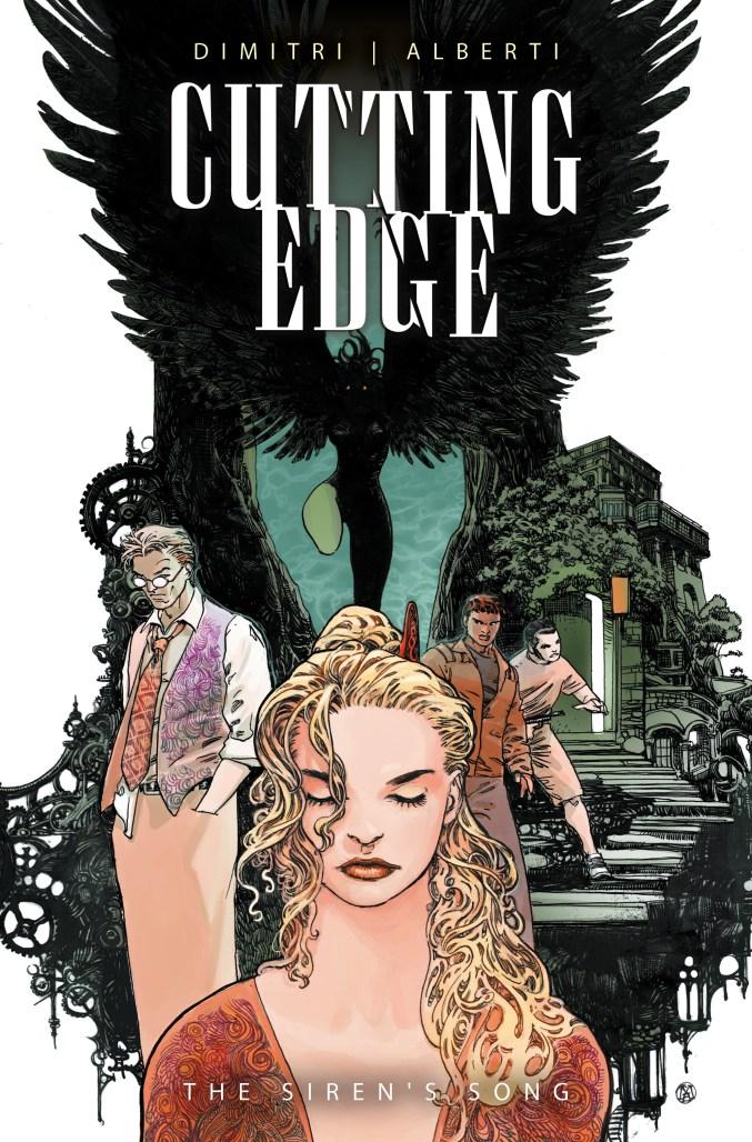 Cutting Edge cover by Mario Alberti.