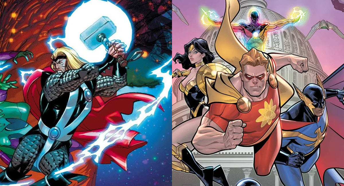 THOR and SQUADRON SUPREME get EMPYRE event tie-in minis