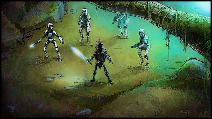 Craig Bruyn artist Jedi