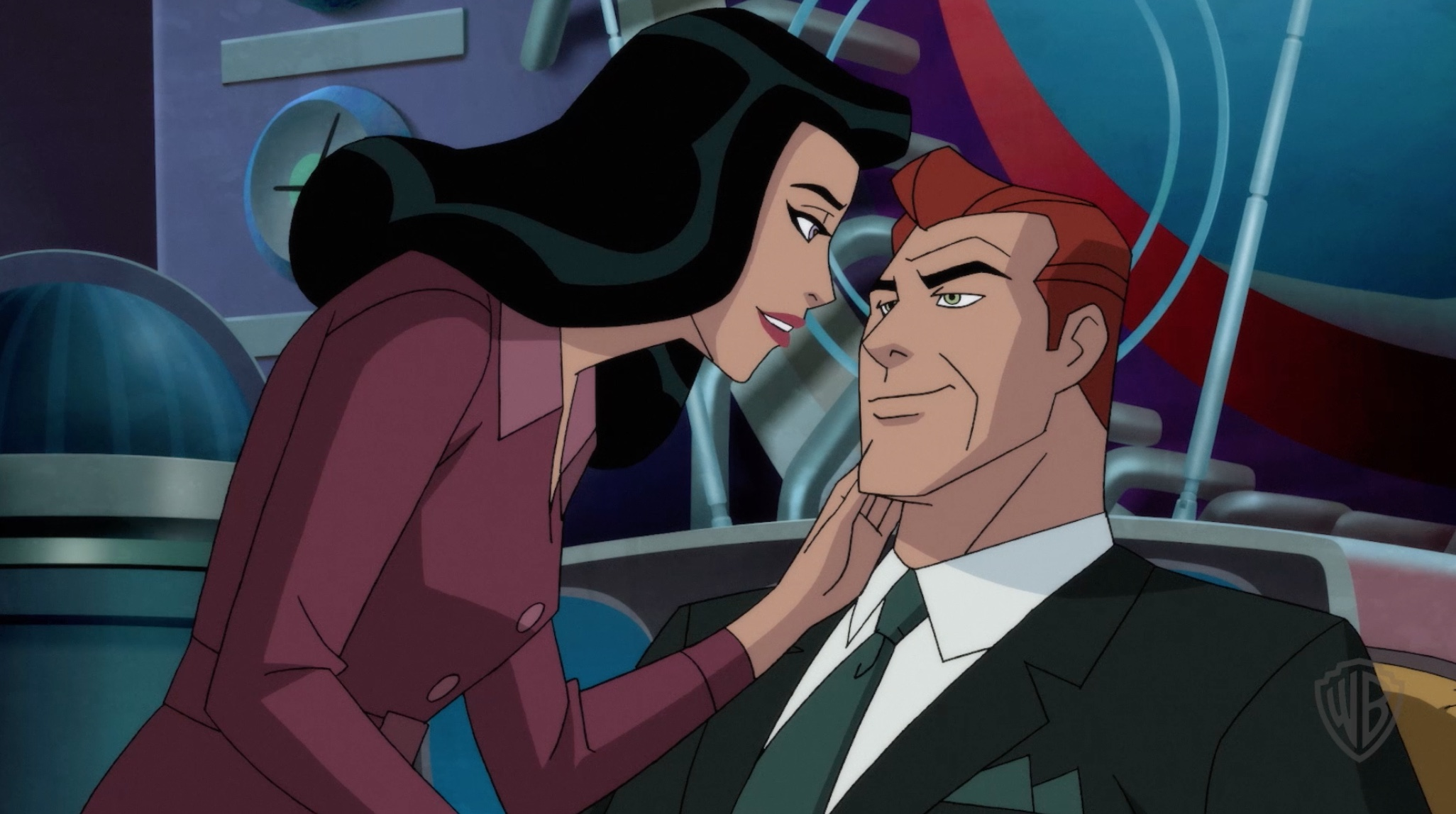 """Lex Luthor & Lois Lane get """"intimate"""" in SUPERMAN: RED SON clip"""
