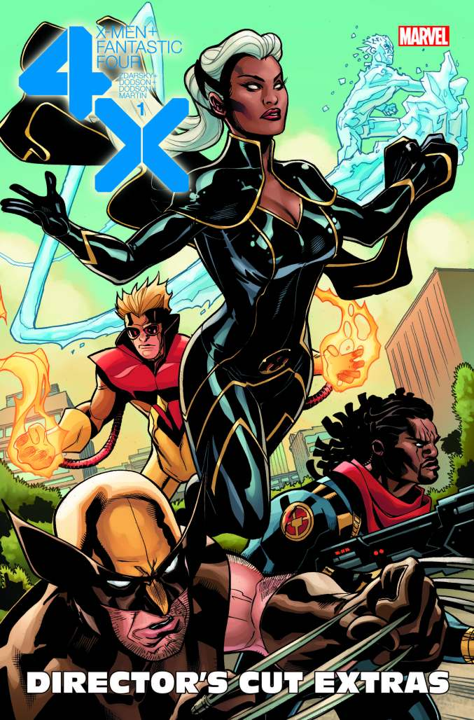 X-Men Fantastic Four #1 Director's Cut