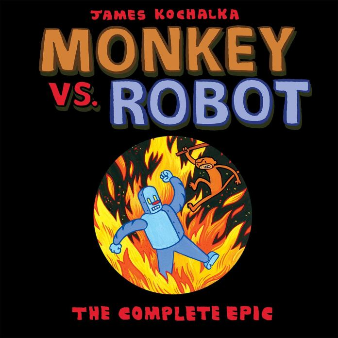Monkey vs Robot Cover